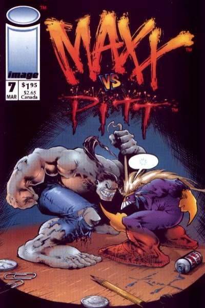 Maxx #7 Comic Books - Covers, Scans, Photos  in Maxx Comic Books - Covers, Scans, Gallery