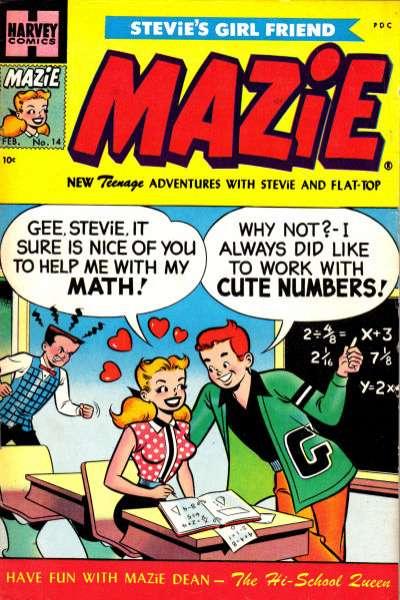 Mazie Comic Books. Mazie Comics.