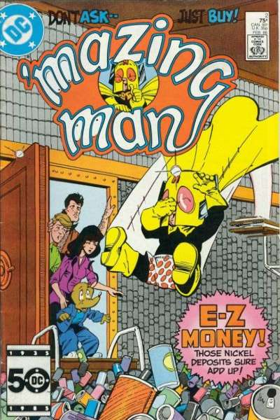 Mazing Man #2 comic books for sale