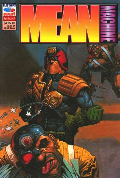 Mean Machine #1 comic books - cover scans photos Mean Machine #1 comic books - covers, picture gallery