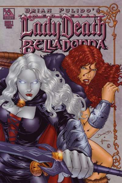 Medieval Lady Death/Belladonna #1 comic books - cover scans photos Medieval Lady Death/Belladonna #1 comic books - covers, picture gallery