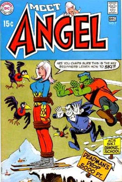 Meet Angel Comic Books. Meet Angel Comics.