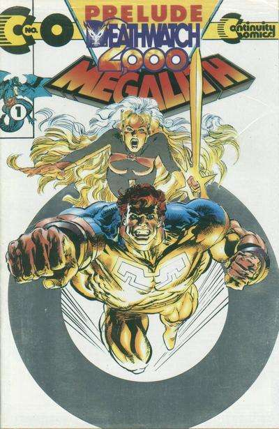 Megalith Deathwatch 2000 #0 comic books for sale