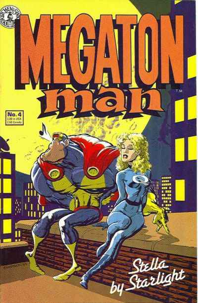 Megaton Man #4 comic books - cover scans photos Megaton Man #4 comic books - covers, picture gallery