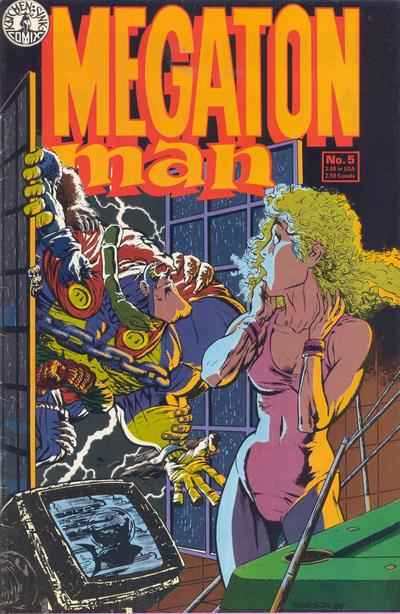 Megaton Man #5 comic books - cover scans photos Megaton Man #5 comic books - covers, picture gallery