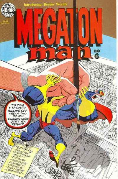 Megaton Man #6 comic books - cover scans photos Megaton Man #6 comic books - covers, picture gallery