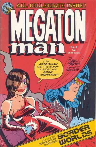 Megaton Man #8 comic books - cover scans photos Megaton Man #8 comic books - covers, picture gallery