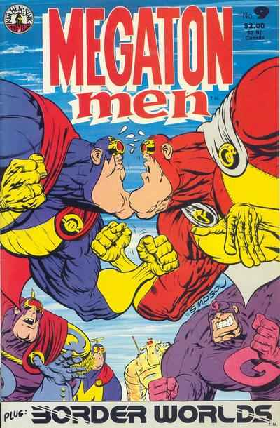 Megaton Man #9 comic books - cover scans photos Megaton Man #9 comic books - covers, picture gallery