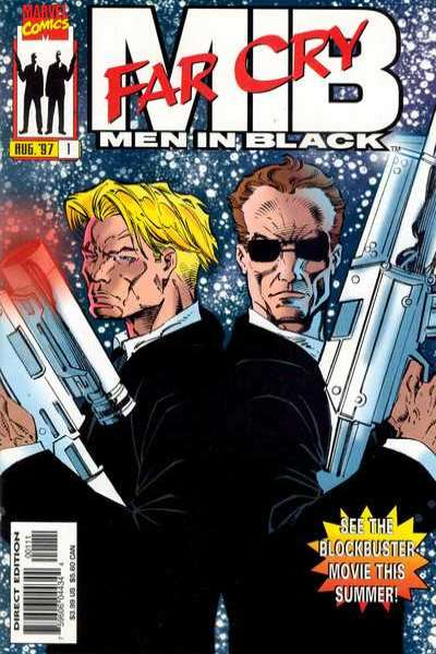 Men in Black: Far Cry #1 comic books for sale