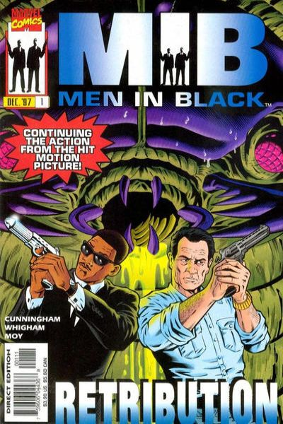 Men in Black: Retribution comic books