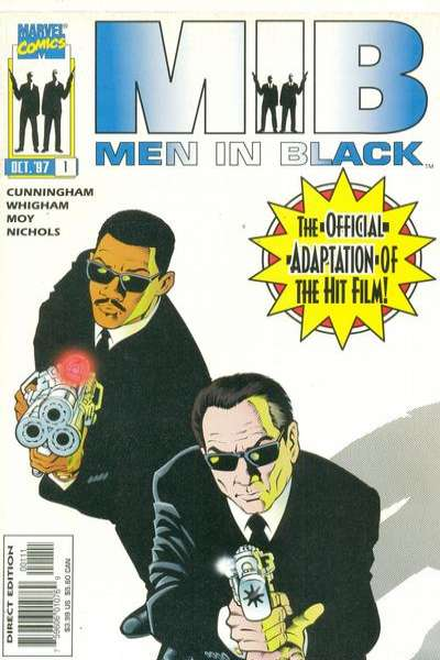 Men in Black: The Movie comic books