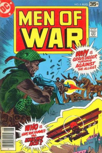 Men of War #8 comic books for sale
