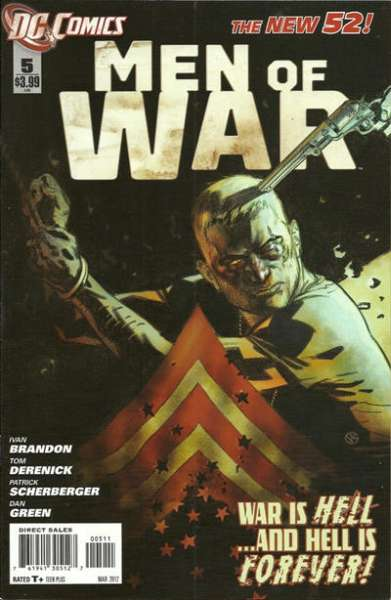 Men of War #5 Comic Books - Covers, Scans, Photos  in Men of War Comic Books - Covers, Scans, Gallery