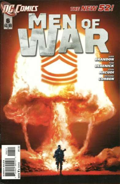 Men of War #6 Comic Books - Covers, Scans, Photos  in Men of War Comic Books - Covers, Scans, Gallery