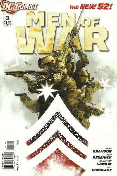 Men of War #3 comic books - cover scans photos Men of War #3 comic books - covers, picture gallery
