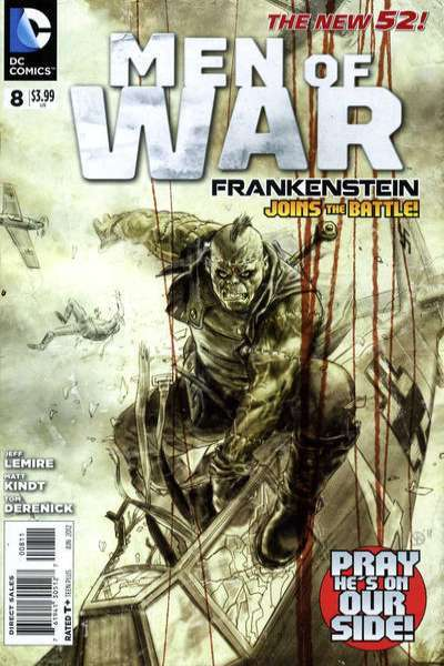 Men of War #8 Comic Books - Covers, Scans, Photos  in Men of War Comic Books - Covers, Scans, Gallery