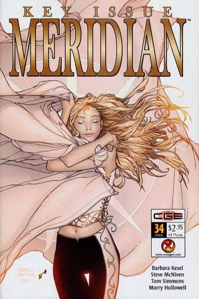 Meridian #34 comic books for sale