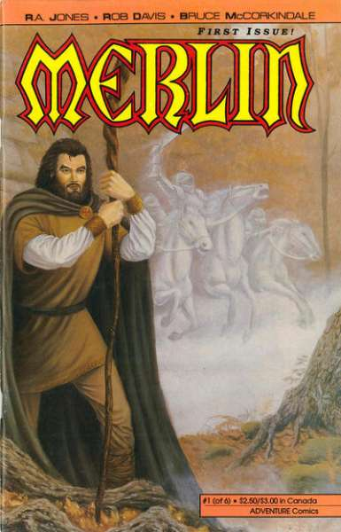 Merlin #1 comic books - cover scans photos Merlin #1 comic books - covers, picture gallery