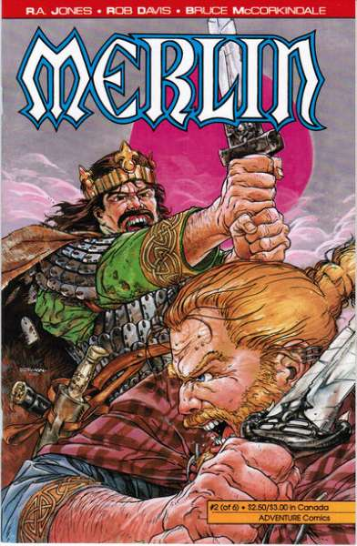 Merlin #2 comic books - cover scans photos Merlin #2 comic books - covers, picture gallery