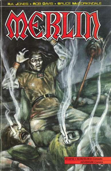 Merlin #3 comic books for sale