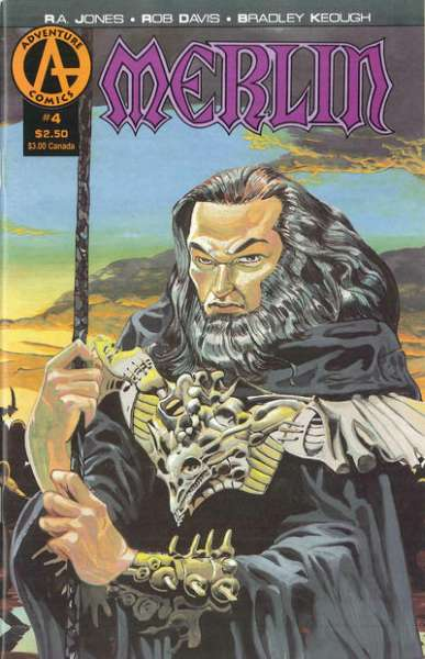 Merlin #4 comic books - cover scans photos Merlin #4 comic books - covers, picture gallery