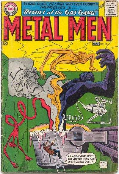 Metal Men #10 Comic Books - Covers, Scans, Photos  in Metal Men Comic Books - Covers, Scans, Gallery