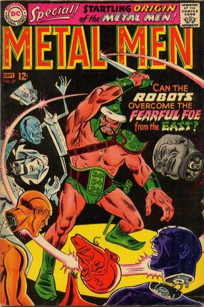 Metal Men #27 Comic Books - Covers, Scans, Photos  in Metal Men Comic Books - Covers, Scans, Gallery