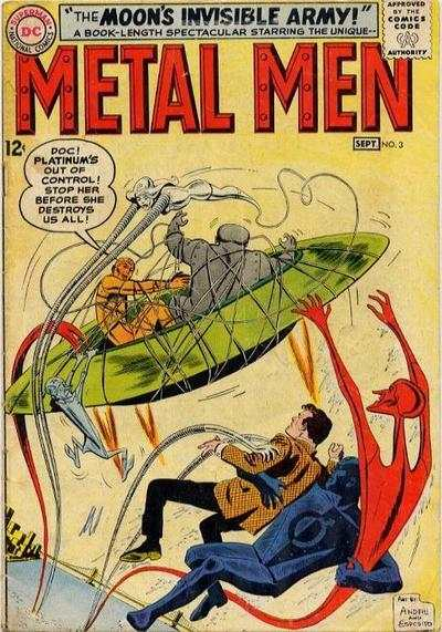 Metal Men #3 Comic Books - Covers, Scans, Photos  in Metal Men Comic Books - Covers, Scans, Gallery