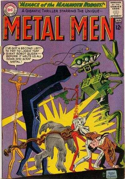 Metal Men #5 comic books - cover scans photos Metal Men #5 comic books - covers, picture gallery