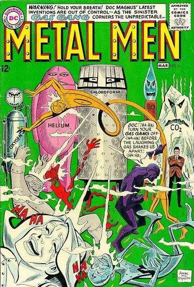 Metal Men #6 comic books - cover scans photos Metal Men #6 comic books - covers, picture gallery