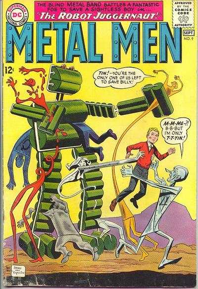 Metal Men #9 comic books - cover scans photos Metal Men #9 comic books - covers, picture gallery