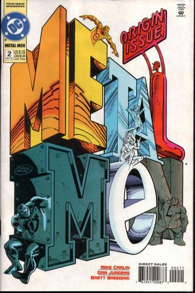 Metal Men #2 comic books for sale