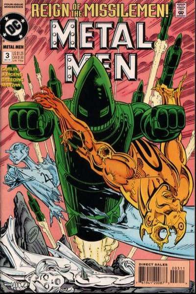 Metal Men #3 comic books for sale