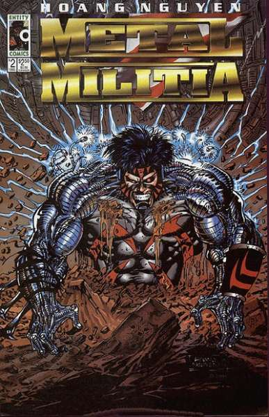 Metal Militia #2 Comic Books - Covers, Scans, Photos  in Metal Militia Comic Books - Covers, Scans, Gallery
