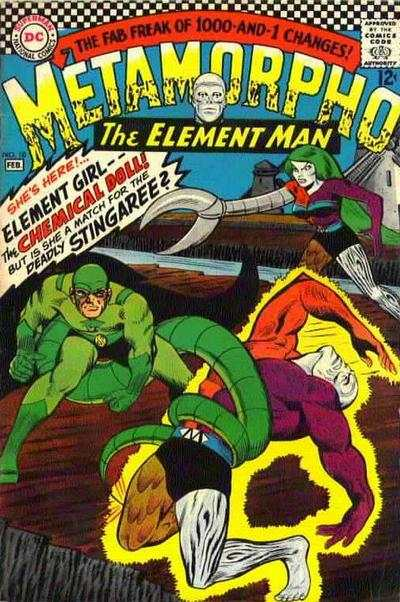 Metamorpho #10 comic books - cover scans photos Metamorpho #10 comic books - covers, picture gallery