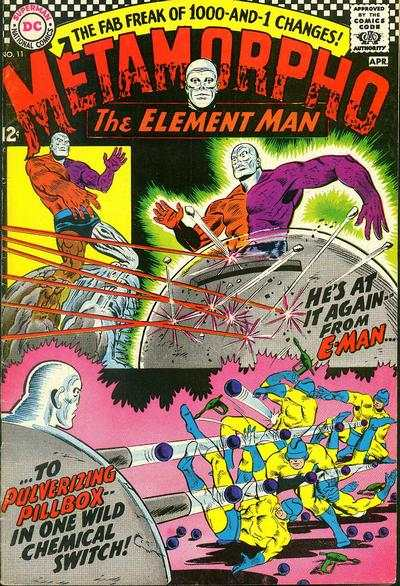 Metamorpho #11 comic books - cover scans photos Metamorpho #11 comic books - covers, picture gallery