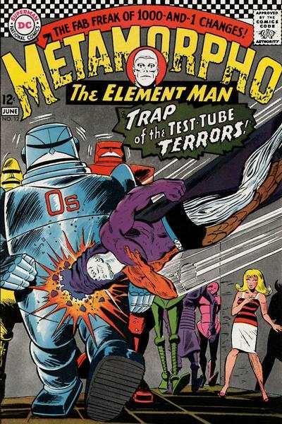 Metamorpho #12 Comic Books - Covers, Scans, Photos  in Metamorpho Comic Books - Covers, Scans, Gallery
