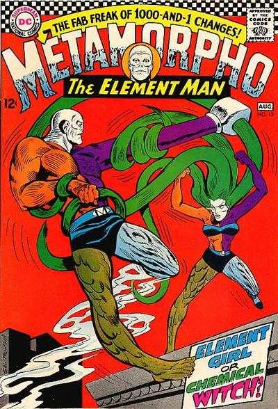 Metamorpho #13 Comic Books - Covers, Scans, Photos  in Metamorpho Comic Books - Covers, Scans, Gallery