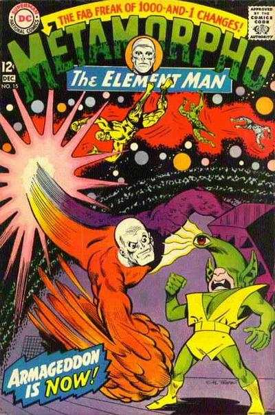 Metamorpho #15 comic books - cover scans photos Metamorpho #15 comic books - covers, picture gallery