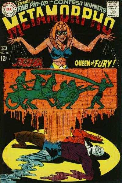 Metamorpho #16 comic books - cover scans photos Metamorpho #16 comic books - covers, picture gallery