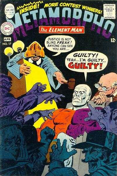 Metamorpho #17 comic books - cover scans photos Metamorpho #17 comic books - covers, picture gallery