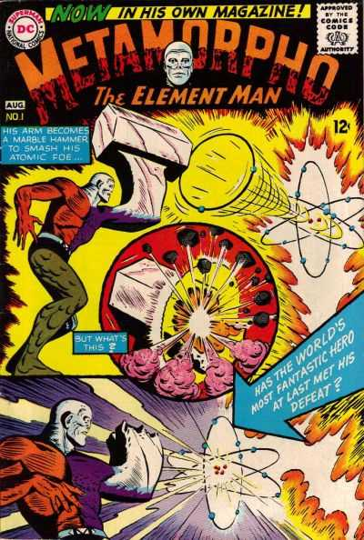 Metamorpho comic books