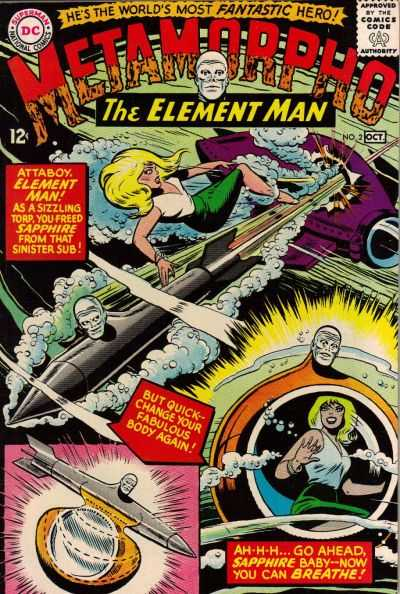 Metamorpho #2 Comic Books - Covers, Scans, Photos  in Metamorpho Comic Books - Covers, Scans, Gallery
