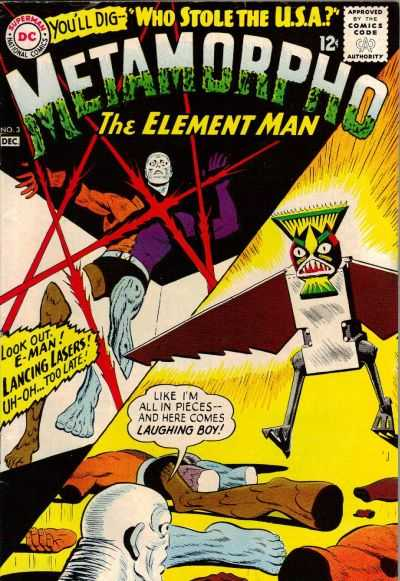 Metamorpho #3 Comic Books - Covers, Scans, Photos  in Metamorpho Comic Books - Covers, Scans, Gallery