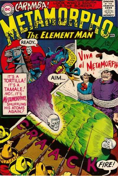 Metamorpho #4 comic books - cover scans photos Metamorpho #4 comic books - covers, picture gallery