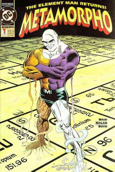 Metamorpho #1 comic books for sale