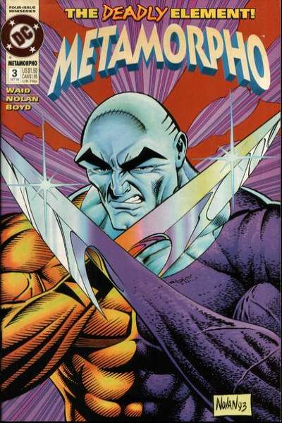 Metamorpho #3 comic books for sale