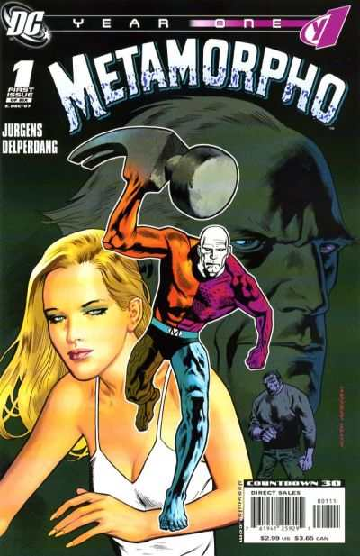 Metamorpho: Year One #1 comic books - cover scans photos Metamorpho: Year One #1 comic books - covers, picture gallery