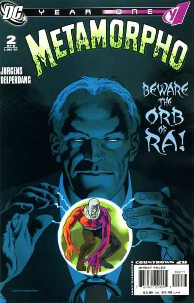 Metamorpho: Year One #2 comic books - cover scans photos Metamorpho: Year One #2 comic books - covers, picture gallery
