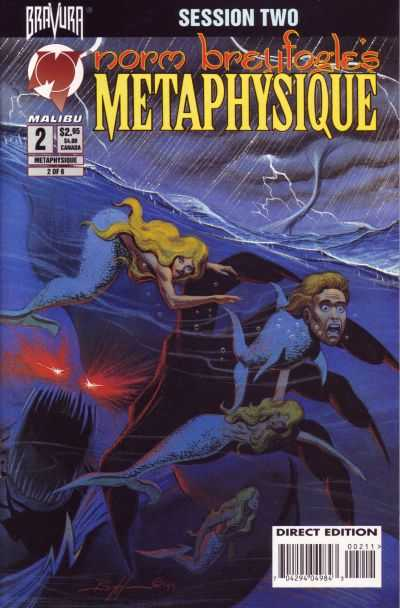 Metaphysique #2 comic books - cover scans photos Metaphysique #2 comic books - covers, picture gallery